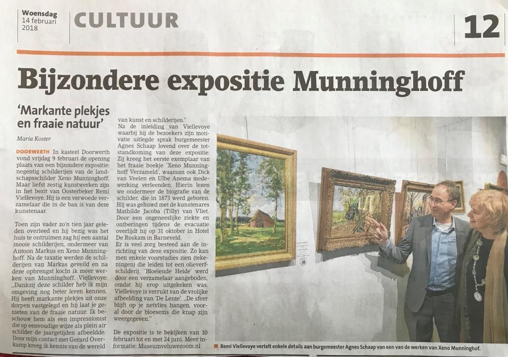 expositie kasteel doorwerth publicatie xeno münninghoff